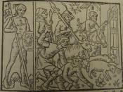 Mars en Marskinderen Uit: Le compost et kalendrier des bergers. Reproduction et fac-simile de l'edition Guy Marchant (Paris 1493). Introduction de Pierre Champion , Parijs 1926.