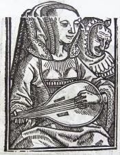 Het Huys der fortunen 1518,  Medea Uit: Ary Delen, 'Illustraties met vervangbare stukken' De Gulden Passer 1 (1923), 30-31.